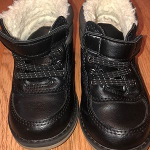 Black boots for babies